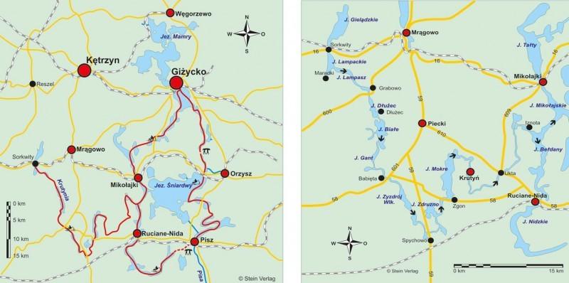 Polen: Kanutouren in Masuren Krutynia & Masurische Seen