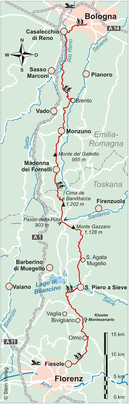 Italien: Trans-Apennin