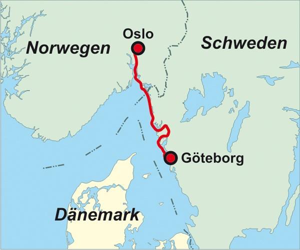 Schweden Norwegen: Seekajaktour Göteborg - Oslo