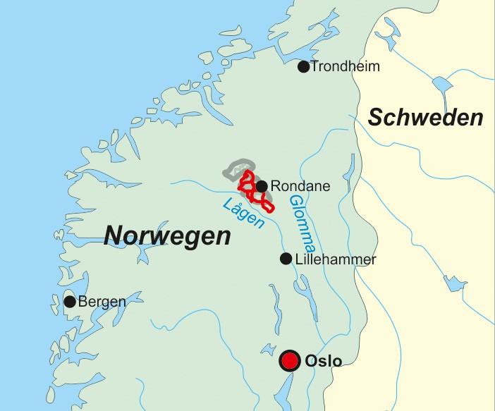 Wanderführer Norwegen: Rondane - Fernwanderweg