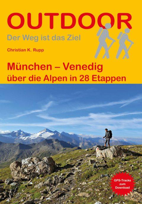 Wanderführer München - Venedig - Fernwanderweg
