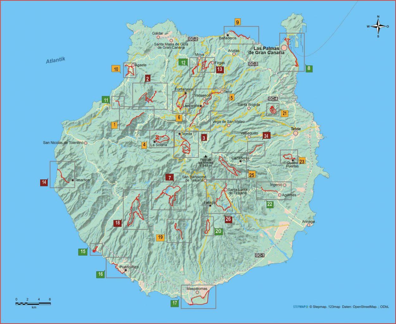 Gran Canaria 26 Wanderungen im ewigen Frühling